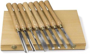 Jeu de couteaux a bois 8 pcs