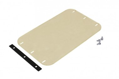 Tapis amortisseur en polyester pour plaque vibrante