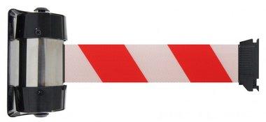 Ruban adhesif blanc/rouge pour support mural de 4 metres
