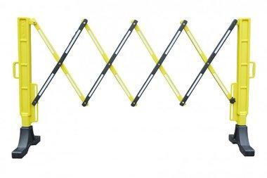 Cloture souple jaune/noir