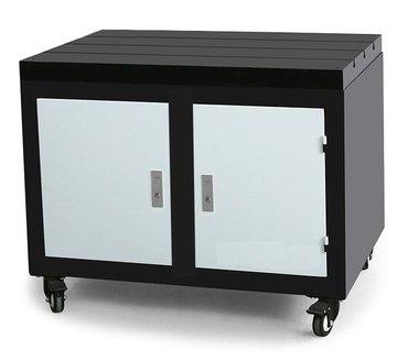 Etabli mobile avec plateau en fonte 800x600x875mm
