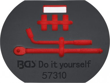 Bgs technic Inlegmodule leeg voor Art. 57310