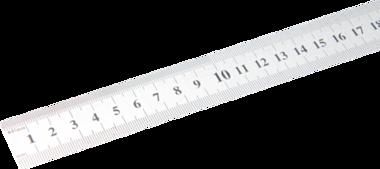 Metre en acier flexible Acier inoxydable inoxydable 0,5 m