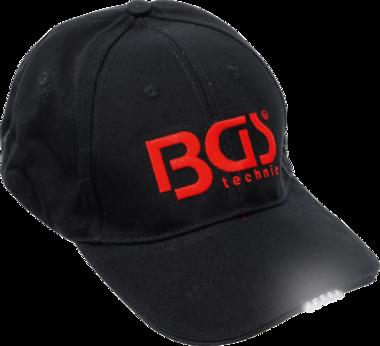 Casquette de baseball BGS avec lumiere LED