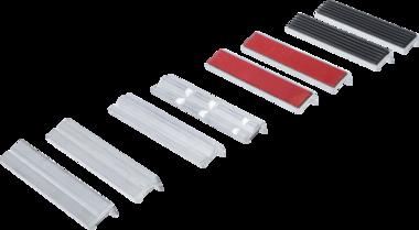 Jeu de mors de protection pour etau aluminium 150 mm 8 pieces