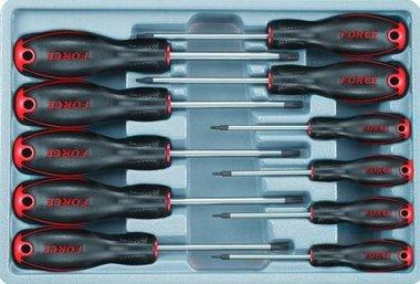 Module de 11 tournevis pour vis Torx perce