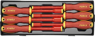 Module de 6 tournevis a douilles 6 pans isoles 1000V