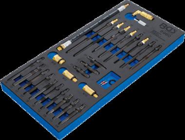 Jeu d'adaptateurs pour testeur de compression et de pertes de pression 30 pieces