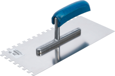 Taloche dentee inoxydable dents rectangulaires 280 x 130 mm