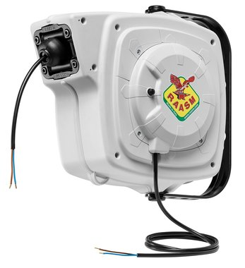 Enrouleur electrique controle 9 m - 3g 2,5 mm²