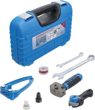 Jeu d'outils pour sertir, cintrer et separer pour conduites de freins de 4,75 mm (3/16)