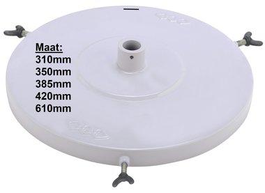Couvercle de pompe a graisse pneumatique