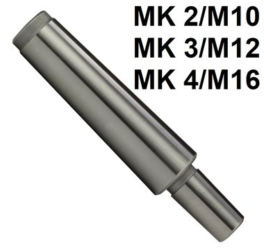 Mandrin conique mk avec fil DIN228-A