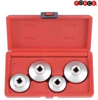 Bouchons de filtre a huile 3/8 set 4-pieces