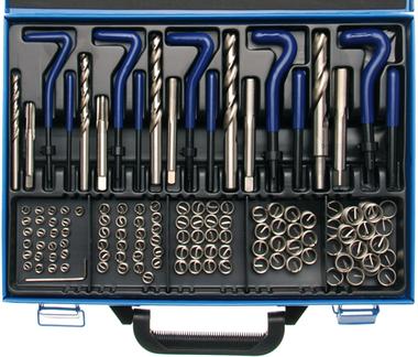 Kit de reparation de filets M6 - M14 - 130 pieces