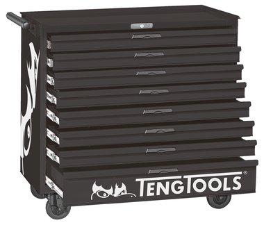 Chariot a outils noir 8 tiroirs