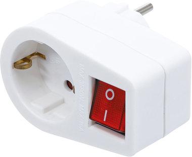 Adaptateur de prise de courant avec commutateur