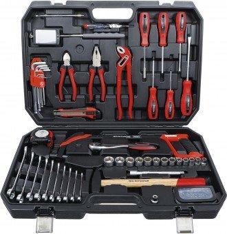 Caisse a outils pour cles a douilles 82 pieces