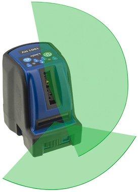 Laser croise 2 lignes avec lumiere laser verte