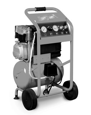 Compresseur de chantier mobile hos 10 bars, 20 liter