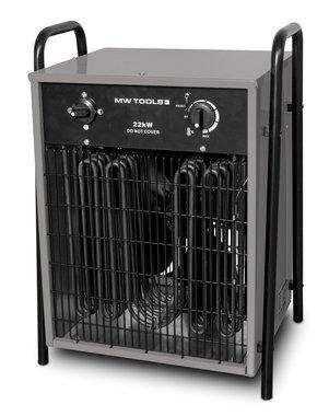 Ventilateur d'air chaud electrique 22kw 3x400V