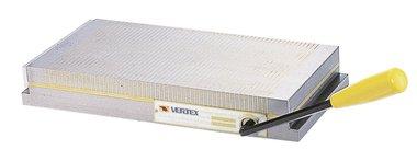 Plaque de serrage magnetique avec divisions de poils moyennement fins 450mmL