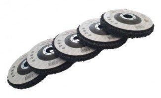 Jeu de disques de nettoyage approprie 125mm x5 pcs