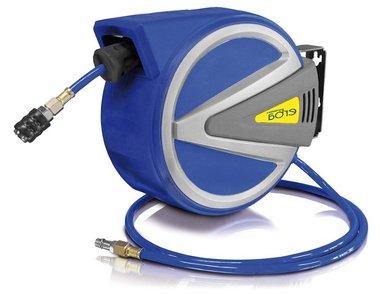Enrouleur d'air comprime AUTOMATIQUE avec 15m+1,5m PU avec fonction d'arret