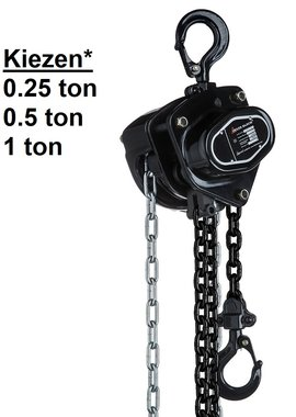 Palan a chaine a main 0,25 t a 1 t