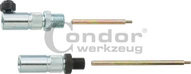 Dial Gauge Adapter Set, 7 pcs., for diesel injection pumps