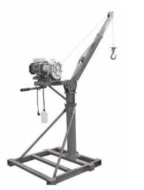 Grue mobile 500 kg treuil electrique