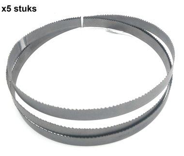 Lames de scie ruban M42 bi-metal - 27x0,9-2750mm, Tpi 10-14 x5 stuks