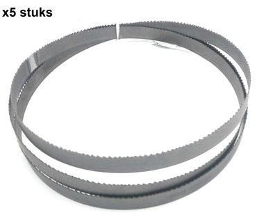 Lames de scie ruban hss - Dents fixes 13x0,65-1638mm 6 x5 stuks