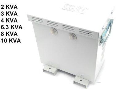 Auto transfo 3x220V vers 3x400V avec couvercle IP23