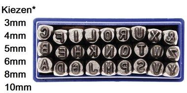 Lettres frapper 3 mm to 10 mm