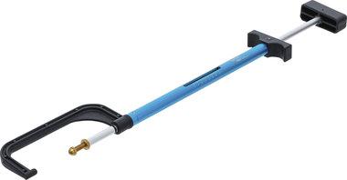 Pied a coulisse pour disques de frein/jauge d'epaisseur 0 - 35 mm