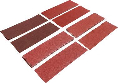 Jeu de feuilles abrasives ponceuse vibrante / cale a poncer 93 x 230 mm Cal. 60 - 180 25 pieces