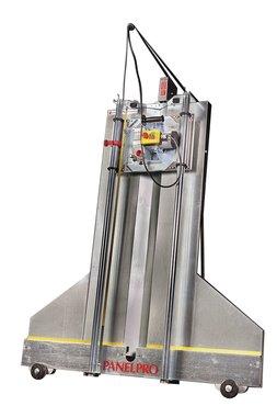 Scie a panneaux mobile 1,8 kw, hauteur de coupe 1625 mm