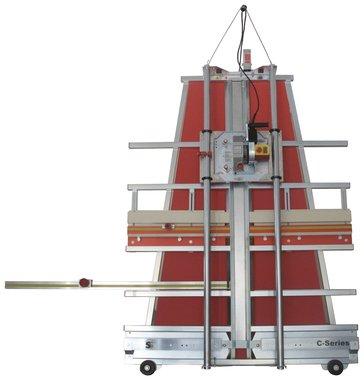 C4 - scie a panneaux verticale