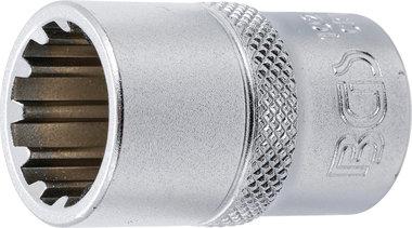 Douille pour cle, Gear Lock 12,5 mm (1/2) 16 mm