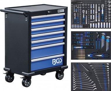 Servante d'atelier 7 tiroirs avec 263 outils