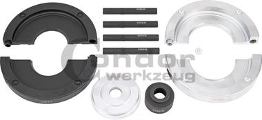 Kit d'accessoires pour roulements de roue de 82 mm de diametre, Ford / Land Rover / Volvo