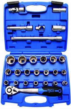 Coffret de douilles 12,5 mm (1/2) 8 - 32 mm 27 pieces