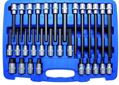 Ensemble de masse hexagonale interne de 30 pieces 1/2 Drive