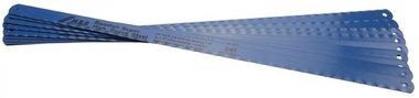 10 lames de hack 13 mm de largeur, 300 mm de long, flexible HSS