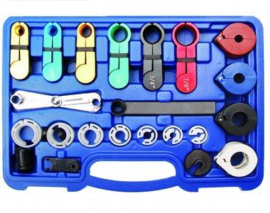Kit de demontage du connecteur de tuyau de 22 pieces