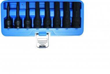 Ensemble de prise de bits impact de 8 pieces, int. Hex. 5-19 mm, 1/2