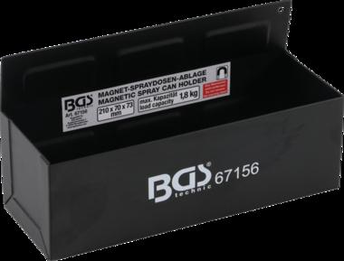 Bac magnétique pour stockage de boîtes