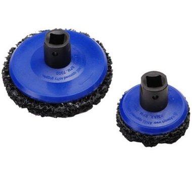 2 pieces Kit de polissage, ˜ 65 mm + ˜ 105 mm