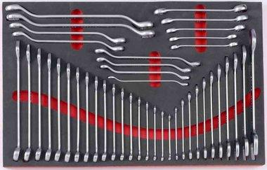 Module mousse de 42 cles fourches & cles tuyauter